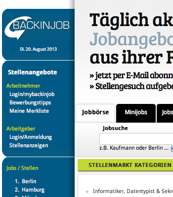 backinjob.de