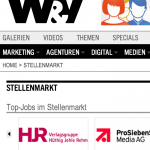 w&v.de:stellenmarkt